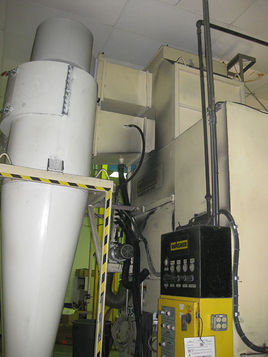 For Sale Use Wagner Cymod Powder Coating System
